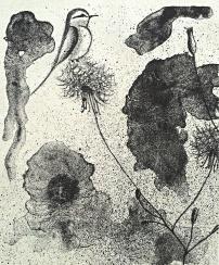 genevieve guadalupe Filomeno lithograph 22x18cm 2017
