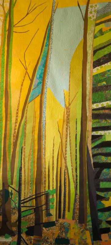 genevieve guadalupe flagstaff artquilt 241,5x112cm 2011