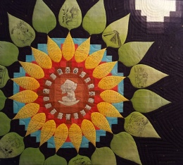 genevieve guadalupe flor de luz artquilt 113x128cm 2015