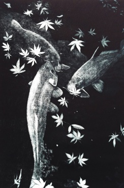 genevieve guadalupe japan in the fall mezzotint