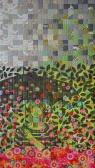 genevieve guadalupe magic umbrella artquilt 129,5x74,5cm 2016