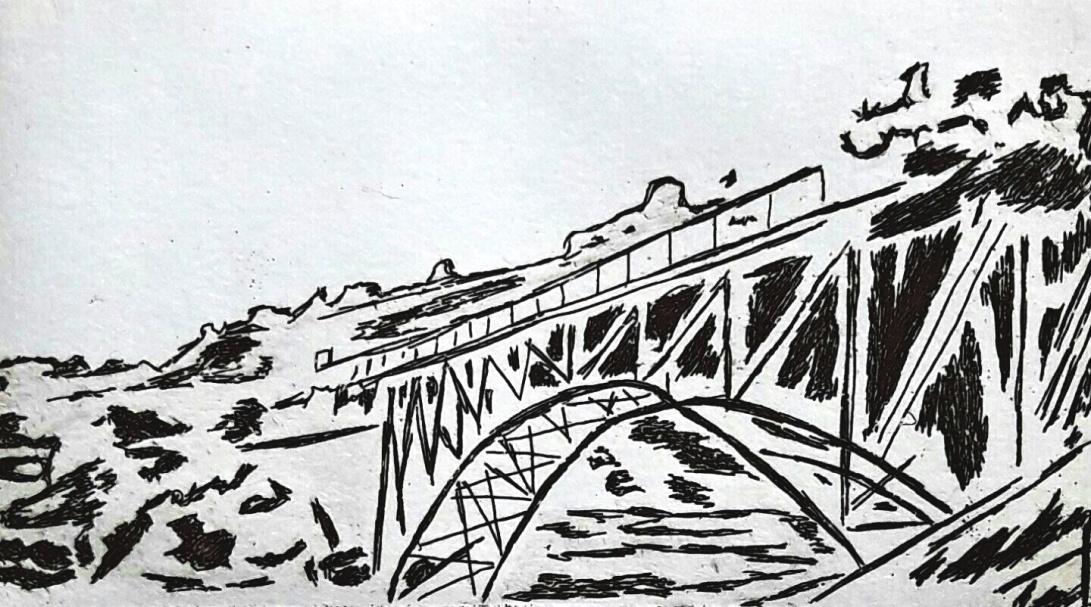 genevieve guadalupe medgley bridge intaglio