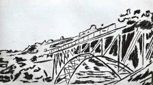 genevieve guadalupe medgley bridge etching