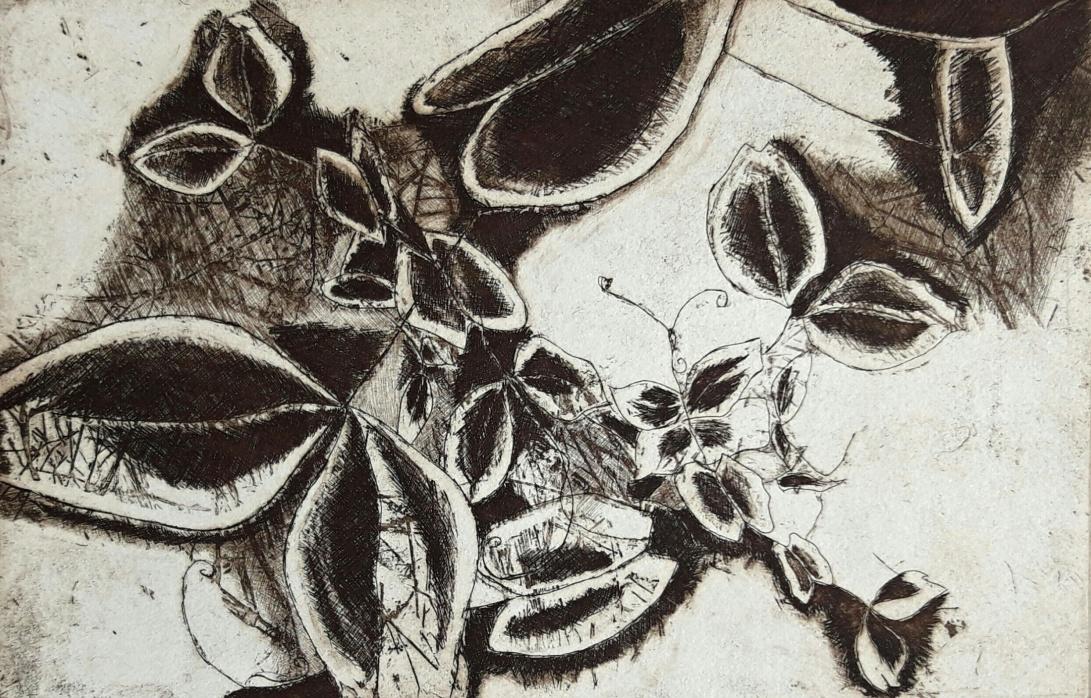 genevieve guadalupe plantule intaglio