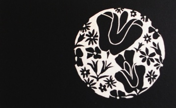 genevieve guadalupe summer moon woodcut 12,5x20cm 2016