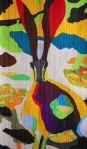 genevieve guadalupe tochtli art quilt 120x70cm 2016