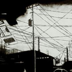 genevieve guadalupe wired etching mezzotint