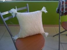 genevieve guadalupe handspun sheepwool knitted
