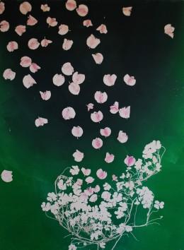 genevieve guadalupe botanica 1 monoprint 75x55cm 2018