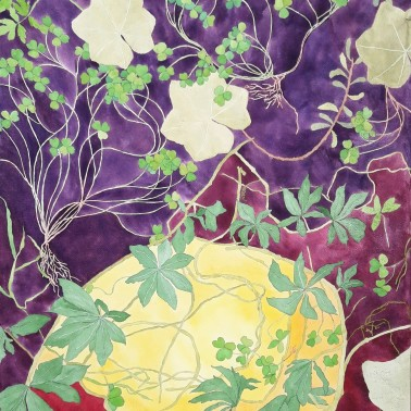 genevieve guadalupe utero botanica watercolor 2018