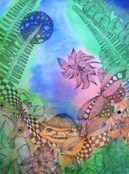 genevieve guadalupe roelio watercolor 28x20cm
