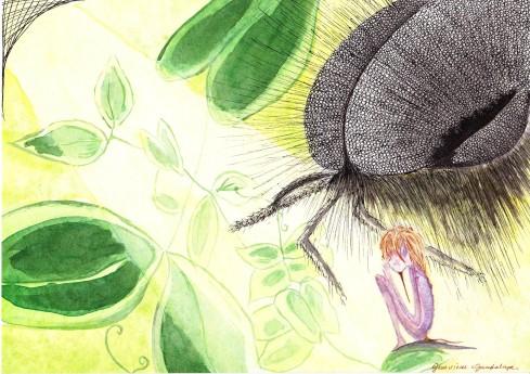 genevieve guadalupe serafin watercolor 20x28cm
