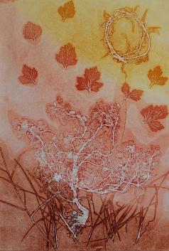 genevieve guadalupe botanica 10 ghost monoprint 50x35cm 2020