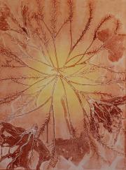 genevieve guadalupe botanica 8 ghost monoprint 75x56cm 2020